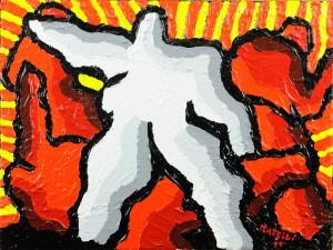 """""""La libertà"""", 2011 - acrilico su tela, 30x40 cm"""