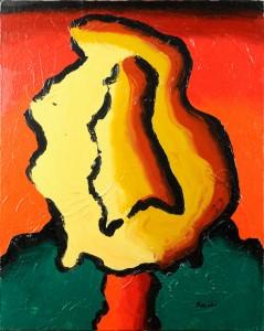 """""""Senza titolo"""", 1998 - acrilico su tela, 50x60 cm"""